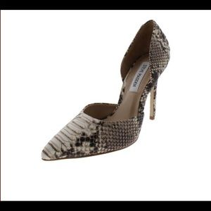 Steve Madden Heavenly Snake Print Heel
